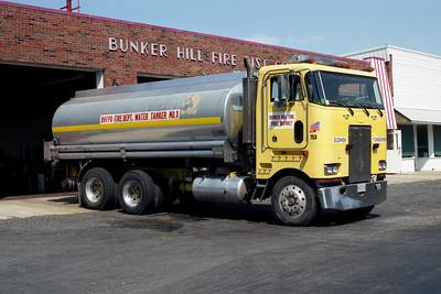 BUNKER HILL FPD  TANKER  X-SHELL OIL