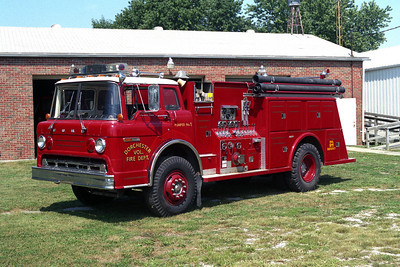 DORCHESTER FPD  PUMPER 1  FORD C-TOWERS