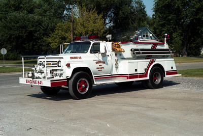ENGINE 841    CHEVY - TOWERS