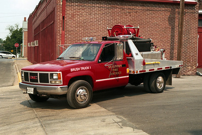 STAUNTON  BRUSH TRUCK 1  CHEVY