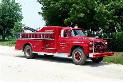 VIRDEN ENGINE 3    1958 CHEVY - TOWERS  500-500  #1151