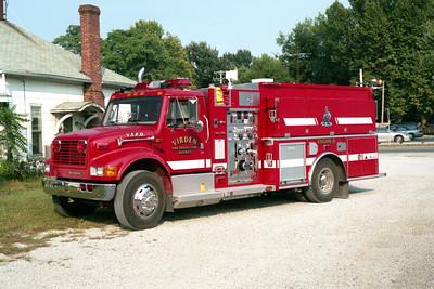 VIRDEN  ENGINE 6 2002  IHC 4900 - ALEXIS  1000-1250-30F