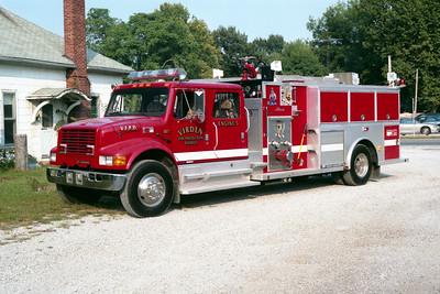 VIRDEN  ENGINE 5   1994 IHC 4900 - ALEXIS   1250-1000  #1539