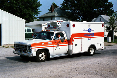 AMBULANCE  CHEVY -