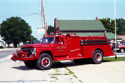 ENGINE 222    FORD F - TOWERS