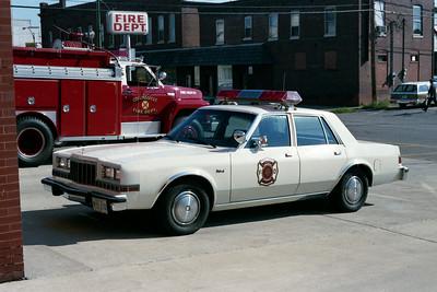 COLLINSVILLE  CAR 1   DODGE  FIRE CHIEF