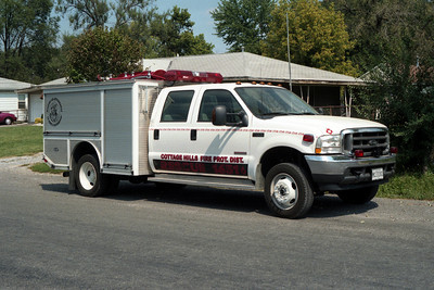 COTTAGE HILLS RESCUE 1651   FORD F-550 -