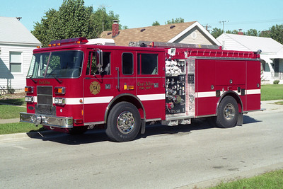 EAST ALTON FD  ENGINE 52  1997 PIERCE SABER  1500-1000  EA-894