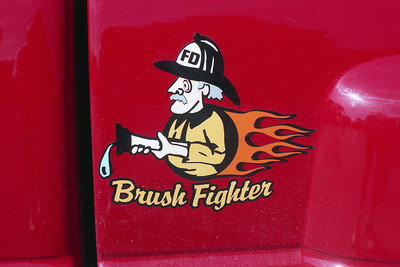 FOSTERBURG FPD BRUSH TRUCK LOGO