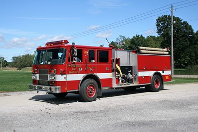 FOSTERBURG  ENGINE 4312  PIERCE SABER