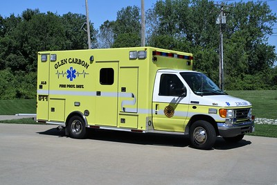 GLEN CARBON FPD  MEDIC 1941  2007  FORD E-450 - OSAGE   #1024