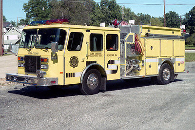 GLEN CARBON FPD  ENGINE 1984  1993  E-ONE CYCLONE   1000-1000    #12665