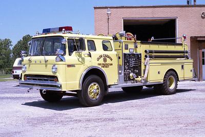 GLEN CARBON FPD  ENGINE 1985  1977  FORD C - FIREMASTER   750-750 (3)