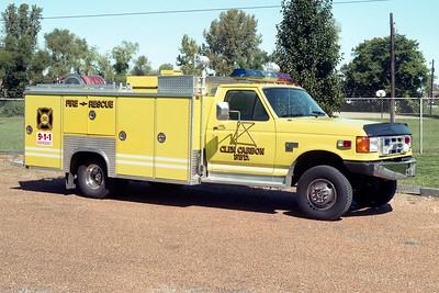 GLEN CARBON FPD  RESCUE 86  1990  FORD F - PRO TEC    250-250
