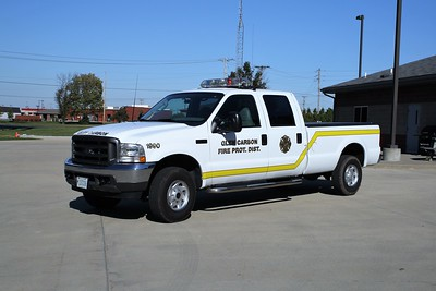 GLEN CARBON FPD  UTILITY 1990   2002  FORD F-250  4X4 PICKUP