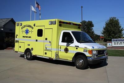 GLEN CARBON FPD  MEDIC 1942  2007  FORD E-450 - OSAGE   #1023