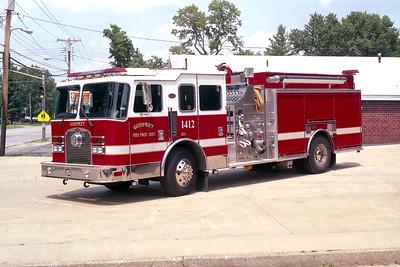 GODFREY FPD   ENGINE 1412   1999 KME EXCEL  1500-940 -30F-30F    #3687