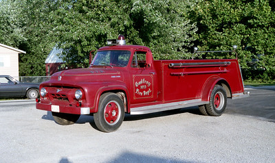 GODFEY FPD  TANKER  33   1954 FORD F - TOWERS   0-1000