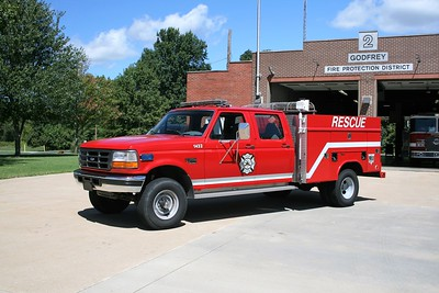 GODFREY FPD  RESCUE 1452   1996 FORD F350 4X4 - READING