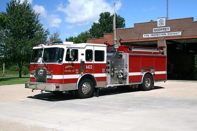 GODFREY FPD   ENGINE 1422   1999 KME EXCEL   1500-840-30F-30F    #3688  1