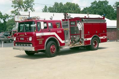 GODFREY FPD   ENGINE 1410   1988  FORD C - FMC   1250-1000
