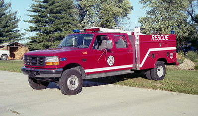 GODFREY FPD   RESCUE 1426   1996 FORD F350 4X4 - READING   1