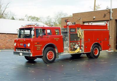 GODFREY FPD   ENGINE 35   1988 FORD C - FMC  1250-1000
