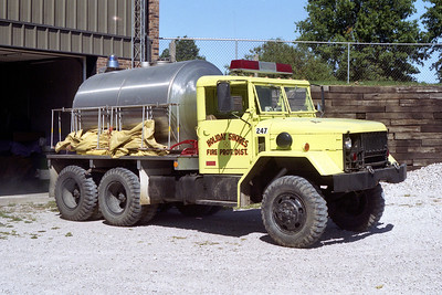 HOLIDAY SHORES TANKER 247  GMC - PRECISION TANK