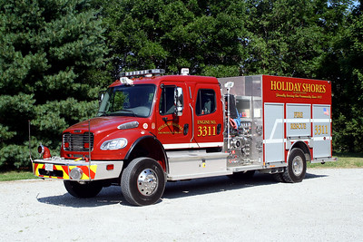 HOLIDAY SHORES FPD  ENGINE  3311     JOHN FIJAL PHOTO