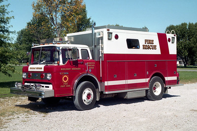 HOLIDAY SHORES SQUAD 3343  FORD C-8000 - MARION