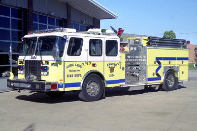 LONG LAKE  ENGINE 2104  E-ONE CYCLONE II