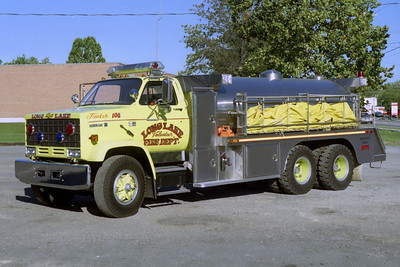 LONG LAKE  TANKER 108  CHEVY KODIAK -