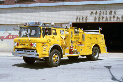 MADISON FD   ENGINE 3  1978 FORD C - TOWERS   1000-600