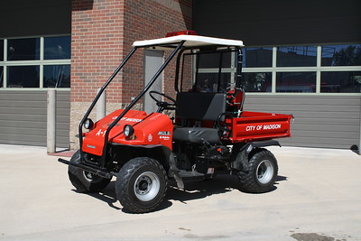 MADISON FD  UTILITY 4591  1999 KAWASAKI MULE  JOHN FIJAL PHOTO