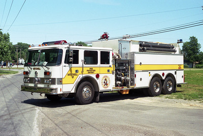 MITCHELL FPD  TANKER 1115  PIERCE ARROW