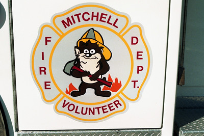 MITCHELL ENGINE 5 DOOR LOGO