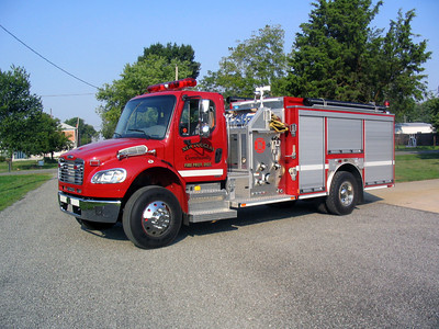 ENGINE    FREIGHTLINER - E-ONE