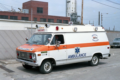 OLIN AMBULANCE   CHEVY - SUPERIOR