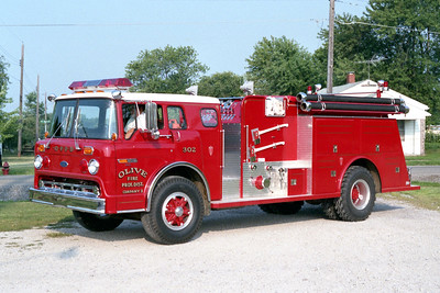 OLIVE ENGINE 302  FORD C - TOWERS