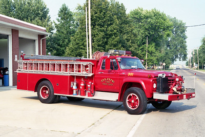 OLIVE  ENGINE 301  FORD F - ALEXIS