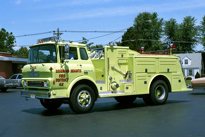 ROSEWOOD HEIGHTS ENGINE 64  CHEVY - TOWERS
