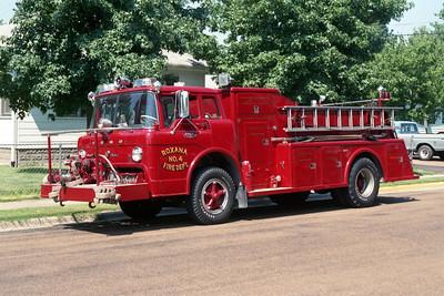 ROXANA ENGINE 74   1967 FORD C -800 - TOWERS  750-750  #1321