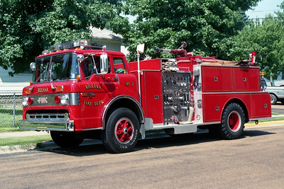 ROXANA ENGINE 5  FORD C - FMC