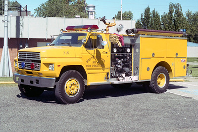 SOUTH ROXANA ENGINE 215  FORD F - PIERCE