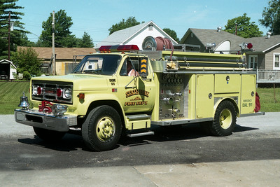 STATE PARK ENGINE 5211  CHEVY - E-ONE