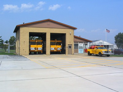 SAINT LOUIS REGIONAL AIRPORT FIRE STATION  -  BETHALTO