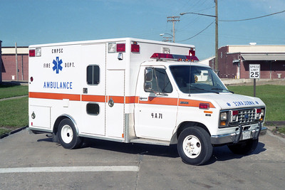 ARMY SUPPORT AMBULANCE 4-A-71