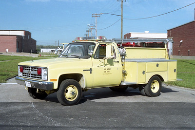 ARMY SUPPORT  RESCUE  CHEVY -
