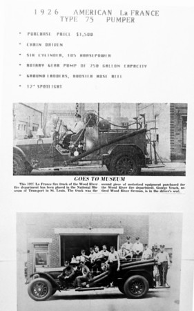 WOOD RIVER  ENGINE  1926 ALFCO  TYPE 75   750 -150