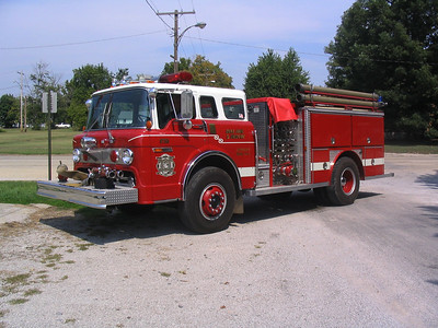 KELL FPD ENGINE 9733  1991  FORD C8000 - E-ONE   1000-500   #2198